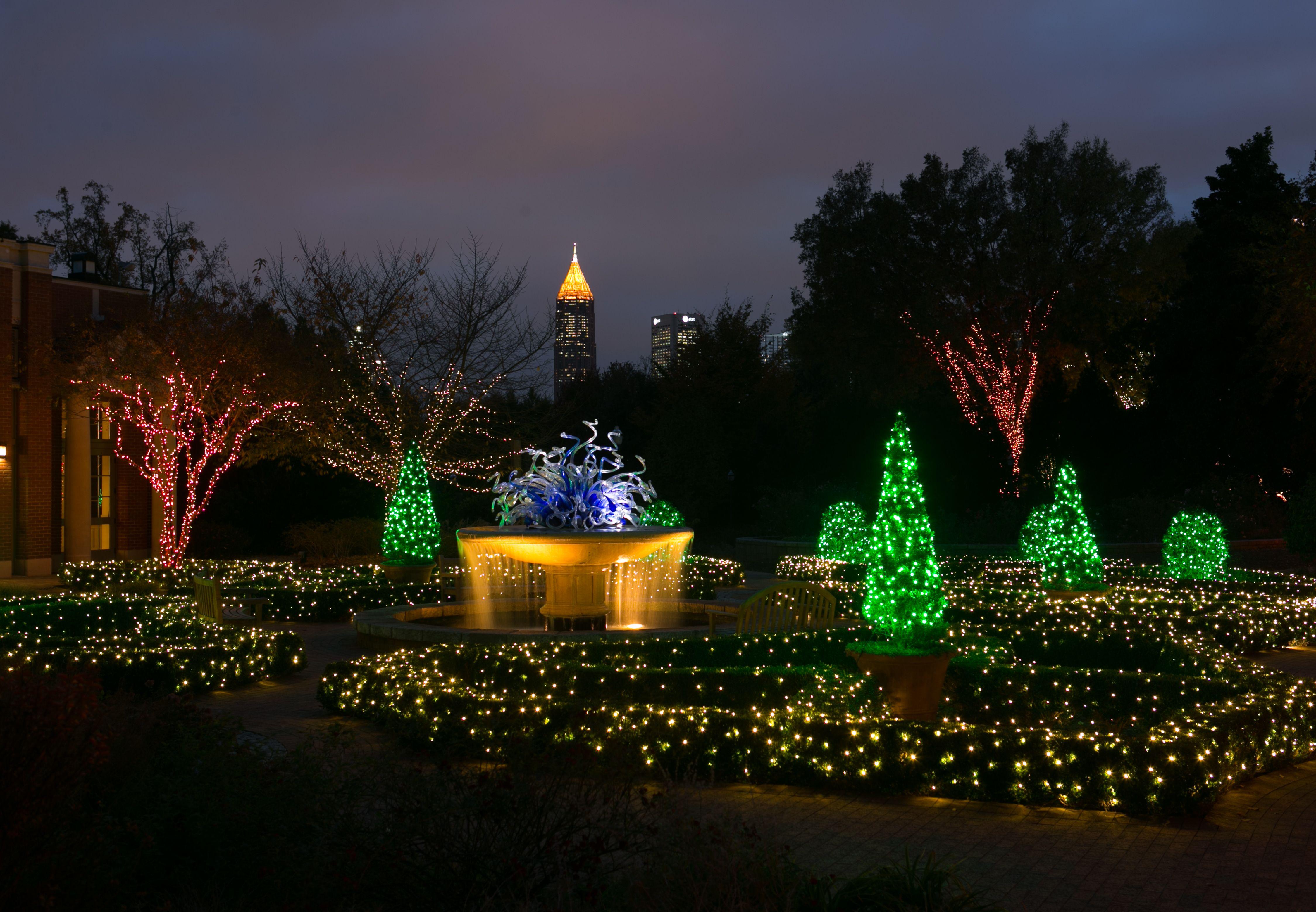 Botanical Gardens Atlanta Light Show Garden Ftempo