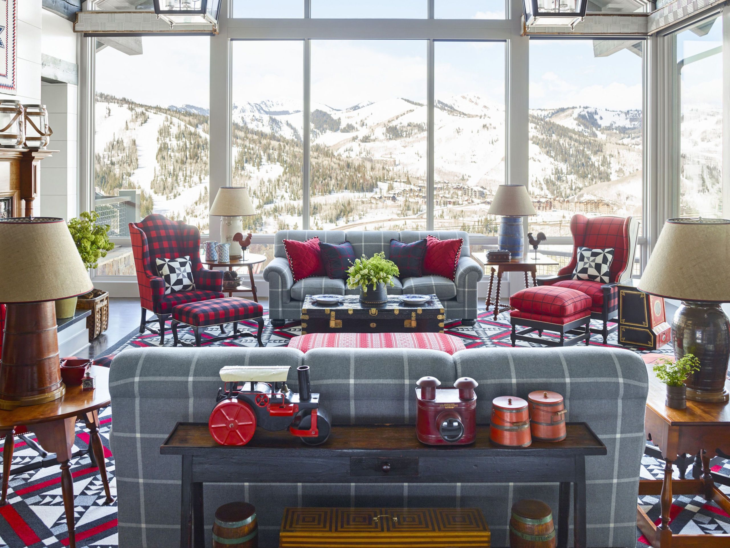 HOUSE TOUR: A Delightful Utah Mountain House Full Of Playful Patterns