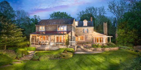 Plant, Property, House, Home, Landscape, Real estate, Garden, Building, Land lot, Residential area,