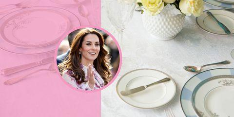 Dishware, Serveware, Pink, Happy, Eyelash, Kitchen utensil, Magenta, Plate, Porcelain, Cut flowers,
