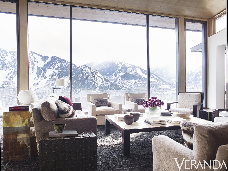 HOUSE TOUR: A Dramatic Mountain House Thatu0027s As Crisp And Clear As The  Alpine Air