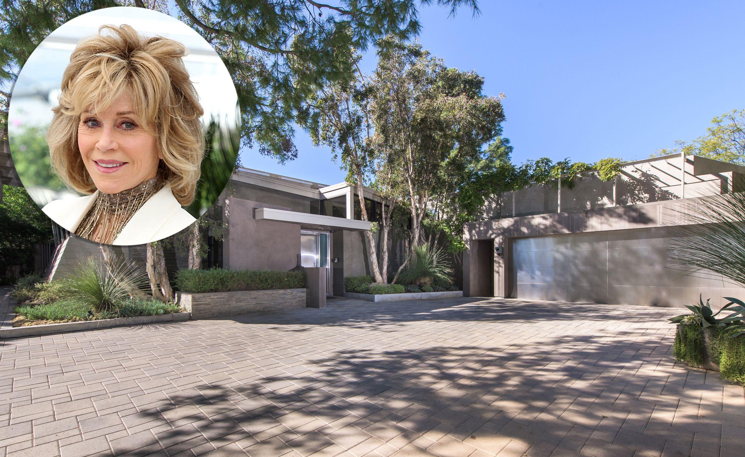 Jane Fonda Lists Her Beverly Hills Mansion - Celebrity Homes In ...