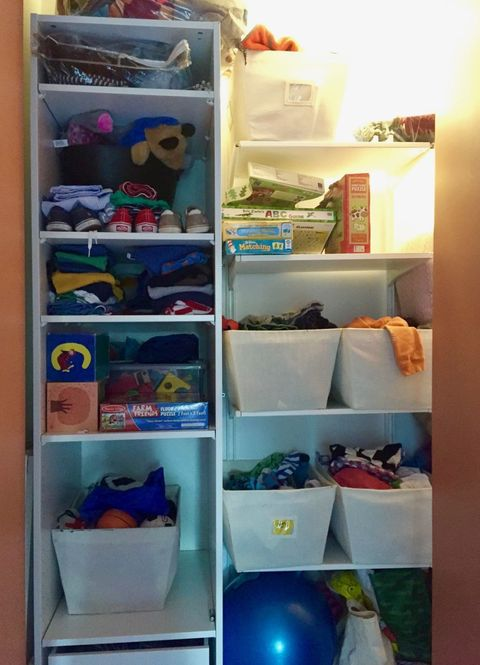 <p>Donelson knew she was going to have to get organized fast if she was going to fit two young kids in one small bedroom. She had tried to DIY the closet in her son's room, but she ended up with a half-baked system that didn't work for her family.</p>