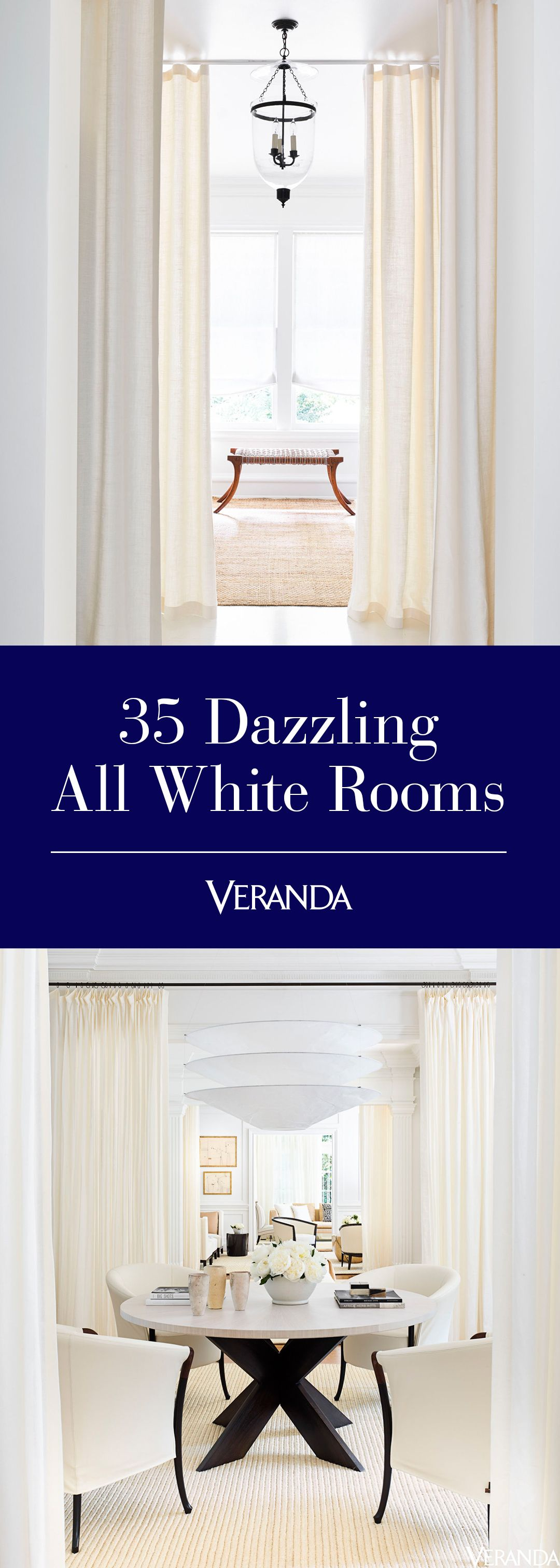 & 25+ Best White Room Ideas - How to Decorate an Elegant White Bedroom