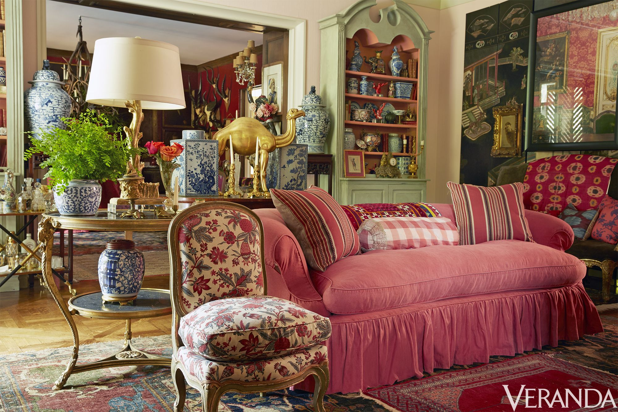 Feast Your Eyes On The Carefully Crafted Spaces That Designers Retreat To U2014  And Draw Inspiration From Their Whimsical Use Of Color And Pattern, ...