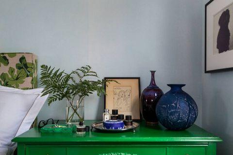 Interior design, Picture frame, Artifact, Houseplant, Flowerpot, Porcelain, Teal, Ceramic, Pottery, Vase,