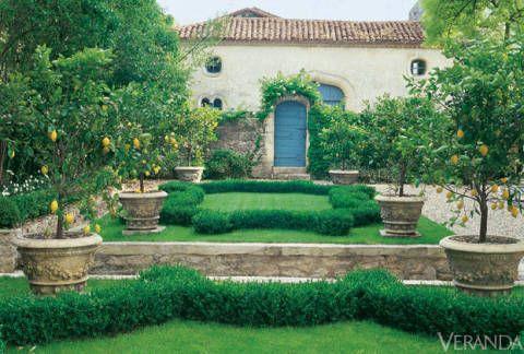 28 French Gardens - Best French-Style Garden Designs
