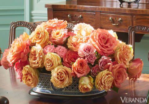 Wood, Bouquet, Petal, Flower, Room, Floristry, Pink, Cut flowers, Orange, Cabinetry,