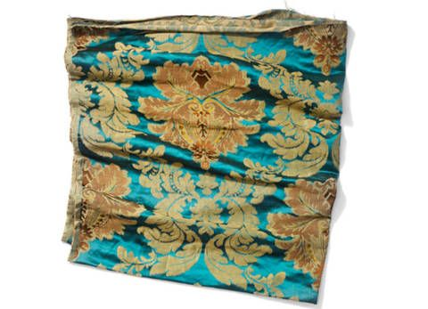 Textile, Teal, Turquoise, Aqua, Pattern, Rectangle, Home accessories, Beige, Linens, Cushion,