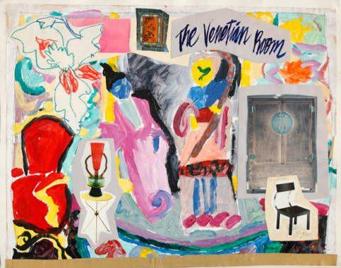 Paint, Art, Modern art, Door, Artwork, Visual arts, Art paint, Illustration, Painting, Indian elephant,