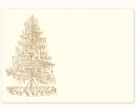 Evergreen, Rectangle, Christmas decoration, Conifer, Ornament, Pine family, Fir, Drawing, Paper, Pine,