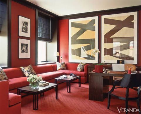 The Archives Red In Veranda Red Decor Inspiration