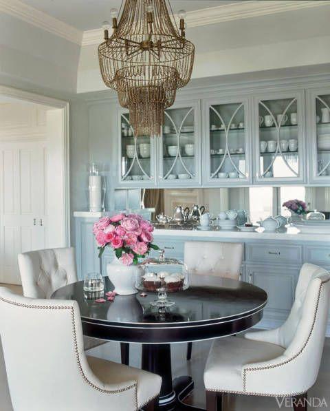 25 Blue Dining Room Designs Decorating Ideas: Blue Decorating Ideas