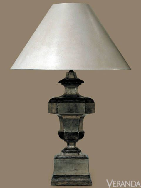 "<p>Italian Table Lamp with Crinkle Paper Shade, Formations (Price Upon Request; <a href=""http://www.formationsusa.com"">Formationsusa.com</a>)</p>"