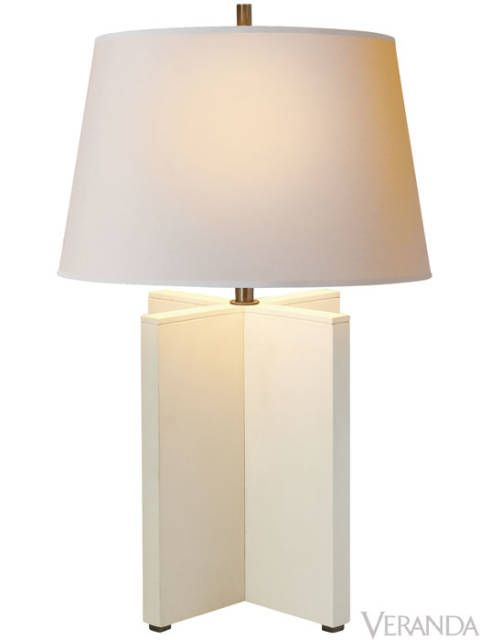 "<p>""Cameron"" Table Lamp, Visual Comfort ($630; <a href=""http://www.circalighting.com"">CircaLighting.com</a>)</p>"