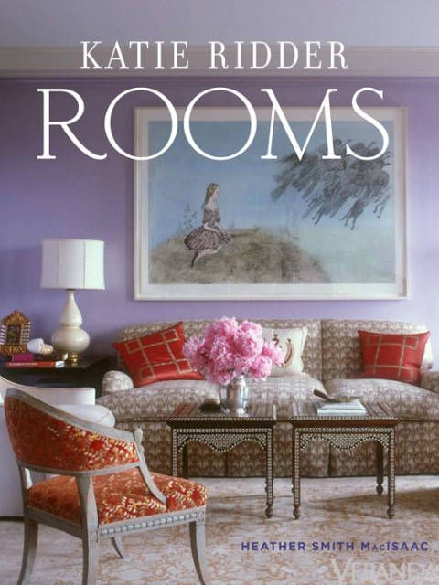 "<p>Diving into <em>Rooms</em> by Katie Ridder gives you a sense of the designer's playfulness and exhuberant use of color. From a living room featuring a playful Brunschwig & Fils wallcovering dotted with radishes to an elegant pairing of Anthropologie lanterns with gold-glazed ceramics, Ridder proves that great design shouldn't be stuffy or pretentious.</p> <p>The chapters are divided by room, providing pages of inspiration and tips for every part of the house. (<a href=""http://www.amazon.com/gp/product/0865652724/ref=as_li_qf_sp_asin_il_tl?ie=UTF8&tag=ver_autolinks-20&linkCode=as2&camp=1789&creative=9325&creativeASIN=0865652724"">$31.50, Amazon</a>)</p>"