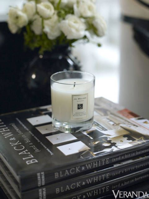 "<p>""We mixed the high and low, the refined and rustic, the luxurious with the deeply meaningful,"" said van Wyck. The ingredients in Jo Malone's scents doubled as a grocery list, and Schumacher fabrics from Kemble's collection reinforced the black-and-white theme.</p>"