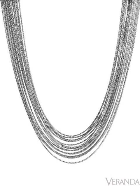 "<p>The multiple layers in David Yurman's Box Chain necklace drape gracefully around the neck, $1,475; <a href=""http://www.davidyurman.com/"">davidyurman.com</a>.</p>"