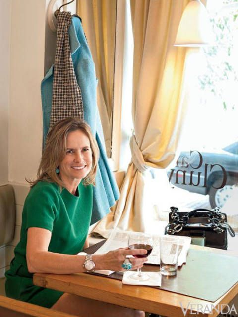 <p>It makes sense that designer and author Angèle Parlange chose the West Village for her second home. The zigzagging side streets and tiny shops evoke the same old-world feel as her native New Orleans, and provide just the right amount of urban inspiration for her creative projects.</p>
