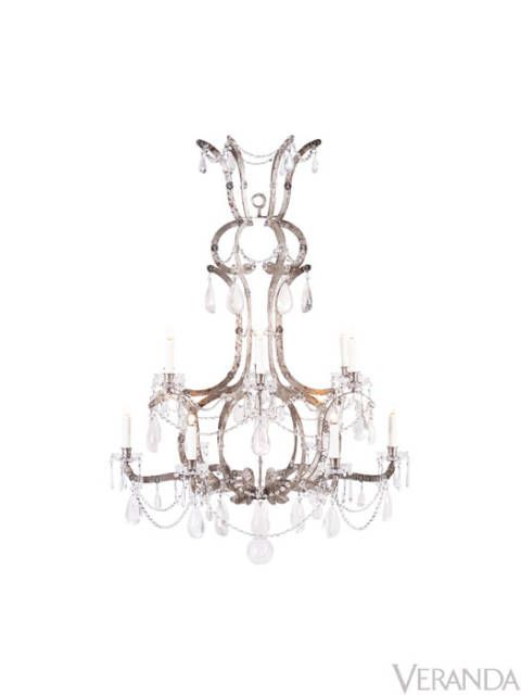 "I like David Iatesta a lot. For someone that looks at chandeliers all the time, I think his pieces have remarkable shape, great proportion, finish and ornament. My current favorite is the <a href=""http://www.davidiatesta.com/chandelier_marseille.html"" target=""_blank"">Marseille</a>, in silver leaf, but I would be proud to have any of his chandeliers over my dining room table. The company is also terrific to work with because they are very attentive to the architecture and design community and consistently meet expectations."