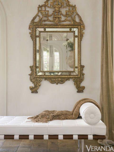 White Interior Design Ideas: Pamela Pierce French Country Home