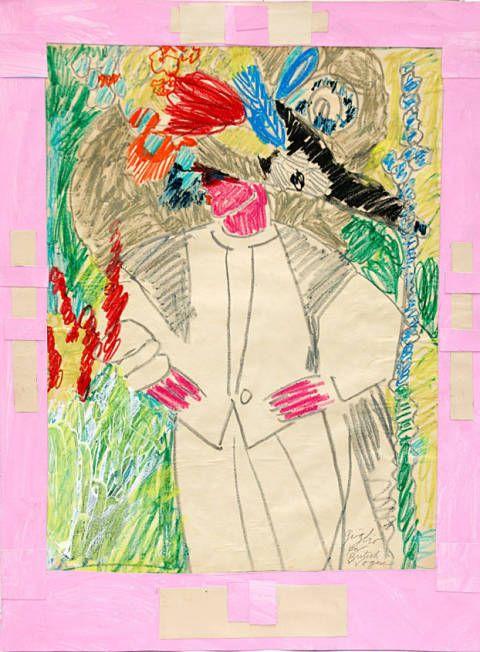 Pink, Art, Magenta, Colorfulness, Artwork, Creative arts, Rectangle, Visual arts, Teal, Paint,