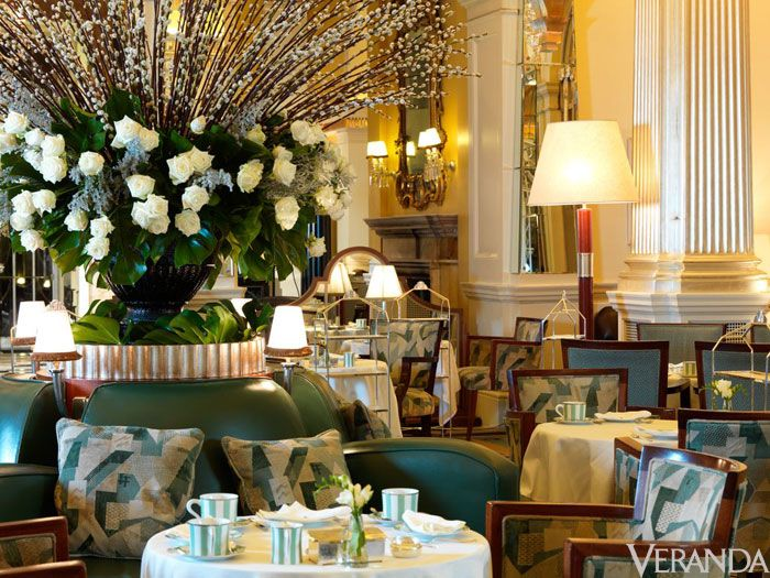 "<p><strong></strong>There's nothing like going to <a href=""http://www.claridges.co.uk/"">Claridge's</a> for afternoon tea. The impeccable service, the location—right in the heart of Mayfair—and elegant Art Deco architecture…it's a transporting experience that turns a mere cup of tea into a special occasion.</p> <p>49 Brook Street  Mayfair</p> <p>London W1K 4HR, United Kingdom</p> <p><br /><strong></strong></p> <p>—Catherine Lee Davis, Style Editor</p>"