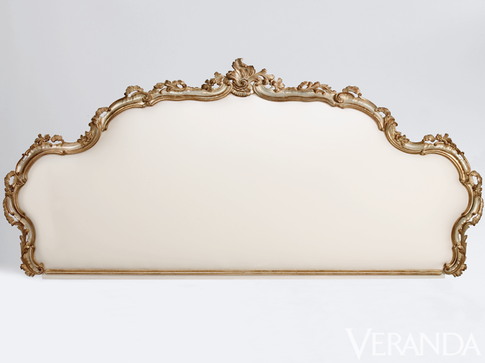 "<p>18th-Century Venetian-Style Headboard (#1063), $5,700&#x3B; <a href=""http://www.decorativecrafts.com"">decorativecrafts.com</a>, 800-431-4455</p>"
