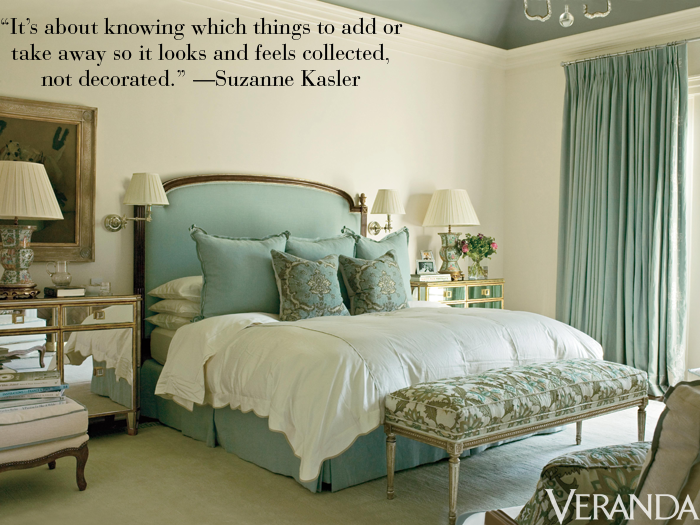"<p>""It's about knowing what to add or take away so it looks and feels collected, not decorated."" —Suzanne Kasler</p>"