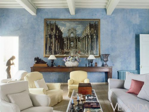 <p>There is nothing Vervoordt does better than conjure a phoenix from its ashes. The château was built in the early eighteenth century by its Irish owner. Following those<br />plans, Vervoordt and Bordeaux architect Christophe Massie rebuilt a missing wing and a tower.</p>