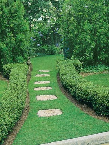 Stepping Stones Offer Decorative, Substantial Surface.