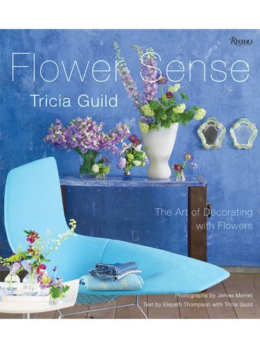"<p>Tricia Guild fans glory in her love of color, which, thanks to James Merrell's remarkable photographs, is ecstatically on display in her latest book. Guild writes, ""As a designer, I give flowers a crucial role in my creative process.... Time taken on flowers is never wasted."" As a gardener, she is dedicated to bringing out the best in her blooms. She demonstrates this in ten chapters that parse the visual language of blossoms in style terms such as City, Vintage, Modern, Romantic, Party, Country, Exotic, Minimal and Garden. Guild concludes with a wonderfully informative chapter on working with cut blooms and making their beauty last. </p> <p>By Tricia Guild Photography by James Merrell</p> <p>Text by Elspeth Thompson with Guild</p> <p><i>Rizzoli, $40</i></p>"