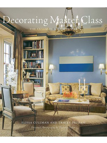 "<p>Elissa Cullman and Tracey Pruzan have written a decorating guide that shows the interior design profession at its best. Their volume on the renowned firm of Cullman & Kravis is smart, practical, analytical, rational, detailed, organized, informative and accessible. It is also full of minutiae the professional knows but most of the public does not. For instance, ""A headboard should be at least 24 to 27 inches higher than the mattress height."" In eleven chapters, ranging from ""Starting Out,"" ""The Floor Plan"" and ""The Hardscape"" to ""The Upholstery,"" ""Adding Color"" and ""The Collections,"" the authors impart invaluable lessons about the process of design. </p>  <p>By Elissa Cullman and Tracey Pruzan</p> <p>Principal photography by Durston Saylor</p> <p><i>Abrams, $45</i></p>"