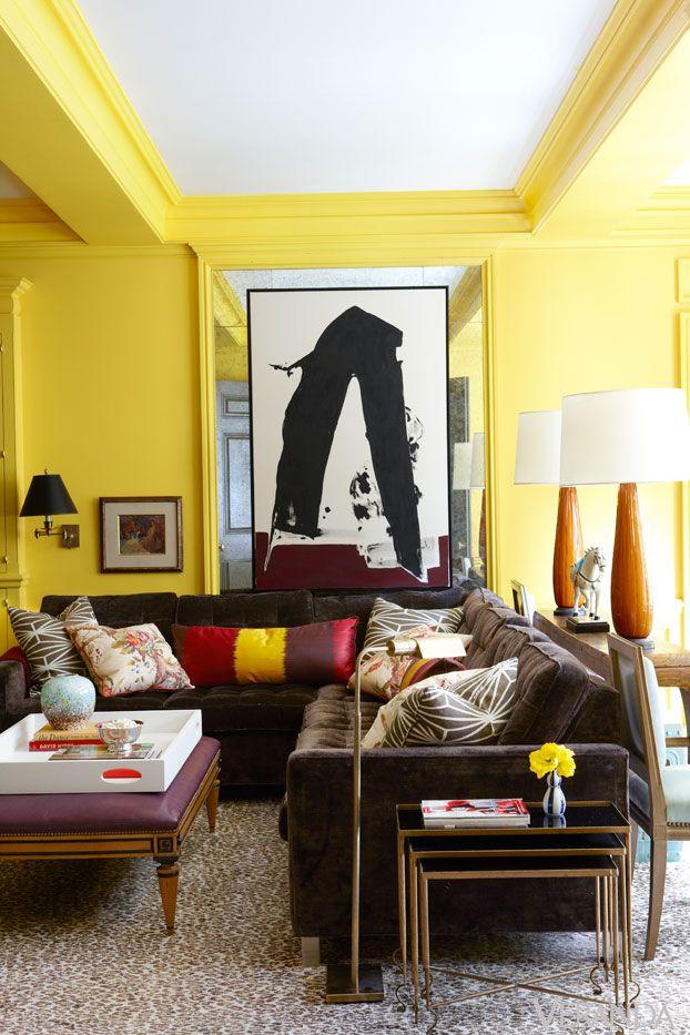 Yellow In Veranda Yellow Rooms