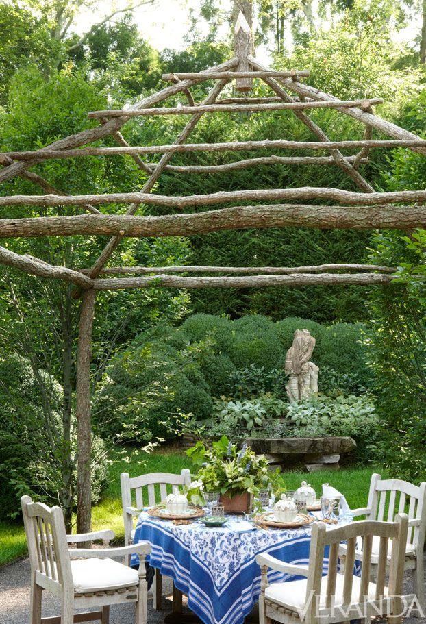 East Hampton Garden Pictures - Charlotte Moss East Hampton Garden