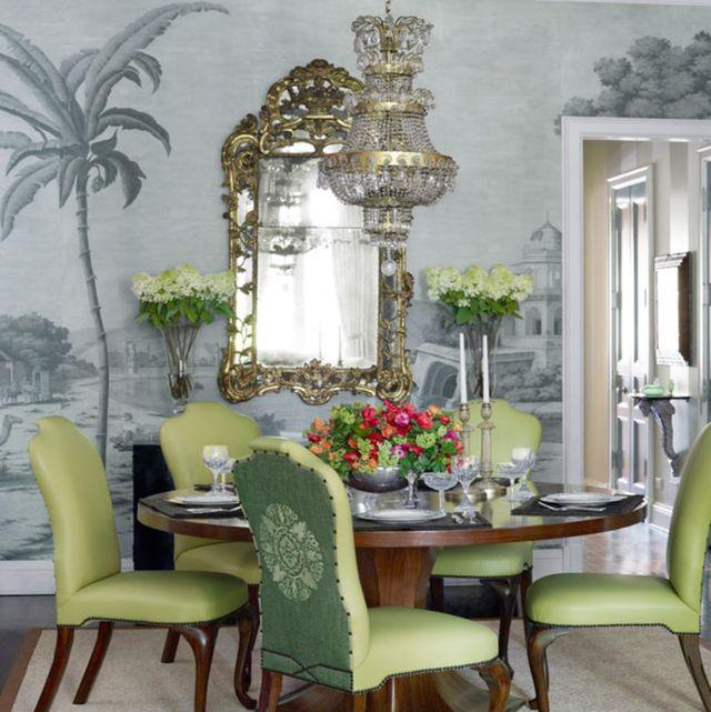 room, green, interior design, furniture, table, chair, interior design, home, arecales, light fixture,