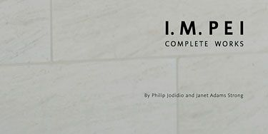 <p>I.M. PEI: COMPLETE WORKS</p> <p>By Philip Jodidio and Janet Adams Strong</p>  <p><i>Rizzoli, $85</i></p>  <p>This hefty monograph—with an illuminating foreword by I.M. Pei, an insightful introduction by Carter Wiseman and informative texts by Philip Jodidio and Janet Adams Strong—covers more than half a century of work by one of the world's foremost architects. Among the Pritzker Architecture Prize-winner's memorable structures are the East Building of the National Gallery of Art, John F. Kennedy Presidential Library and Museum and the glass pyramids at the Louvre. Jodidio, former editor-in-chief of <i>Connaisance des Arts</i>, writes widely about architecture, and Strong has been the historian at Pei's firm for almost twenty years. For admirers of Pei or modern architecture in general, this title makes a worthy addition to any library.</p>