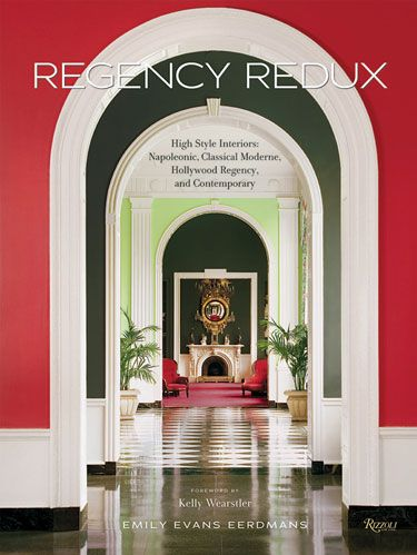 "<p>REGENCY REDUX</p> <p>By Emily Evans Eerdmans</p> <p><b>Foreword by Kelly Wearstler</b></p>  <p><i>Rizzoli, $75</i></p>  <p>Emily Evans Eerdmans, an expert in the English decorative arts, traces the rise and recurrence of the English Regency style, from its Neoclassical eighteenth-century flowering through its twenty-first-century popularity. Kelly Wearstler, the Los Angeles-based designer and exponent of the current Hollywood Regency Revival, supplies a to-the-point foreword for this very smart volume, which is ""about the continuation of the classical tradition and how its malleability makes it at once of the moment as well as historicist,"" Eerdmans writes. She proves her point through a rich selection of images that range from interiors and decorative arts objects to movie stills and fashion magazine photography. </p>"