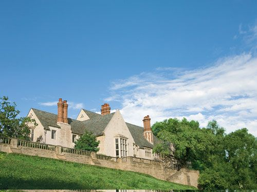 Beverly Hills' Greystone estate sits atop more than eighteen acres.
