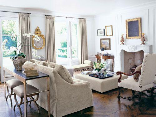 paris inspired interior design - parisian design ideas