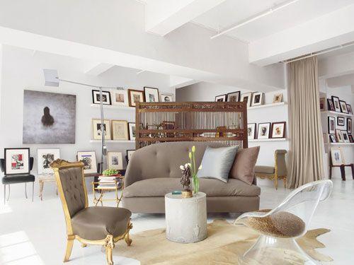 Vincent Wolf Interior Designer: Designer Vicente Wolf's Manhattan Loft