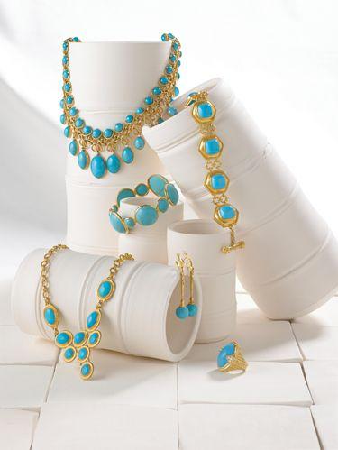 Turquoise Jewelry Blue Hued Jewelry