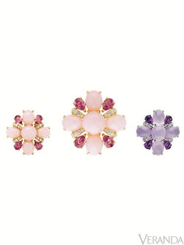 "The San Marco Pastel ring from Chanel features luminous opals with pink tourmalines and diamonds, $14,100; 800-550-0005; <a href=""http://www.chanel.com/"" target=""_blank"">Chanel.com</a>"