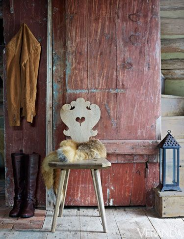 Wood, Boot, Natural material, Hardwood, Wood stain, Fur, Riding boot, Stool, Animal product, Fur clothing,