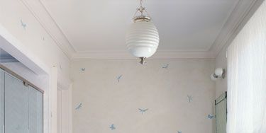 Blue, Room, Floor, Product, Interior design, Plumbing fixture, Flooring, Property, Wall, Ceiling fixture,