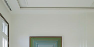 Room, Interior design, Green, Floor, Flooring, Furniture, Table, Home, Wall, Interior design,