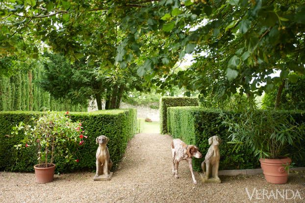28 French Gardens - Best French-Style Garden Designs