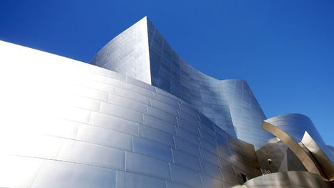 Blue, Daytime, Architecture, Facade, Line, Commercial building, Landmark, Azure, World, Urban design,
