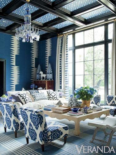 7 Blue And White Decor Ideas   Best Ways To Decorate Blue U0026 White Rooms Part 44