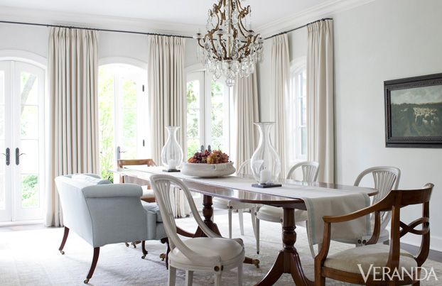 8 rooms that prove all you need is white white decor how to decorate with white - Veranda Dining Rooms